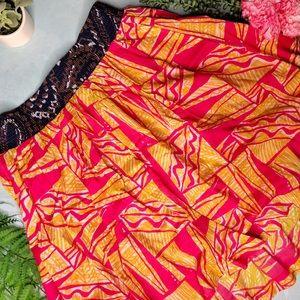 Anthropologie Vanessa Virginia Patterned Skirt
